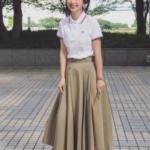 フレッドペリー ポロシャツ レディースコーデとサイズ感!人気は?